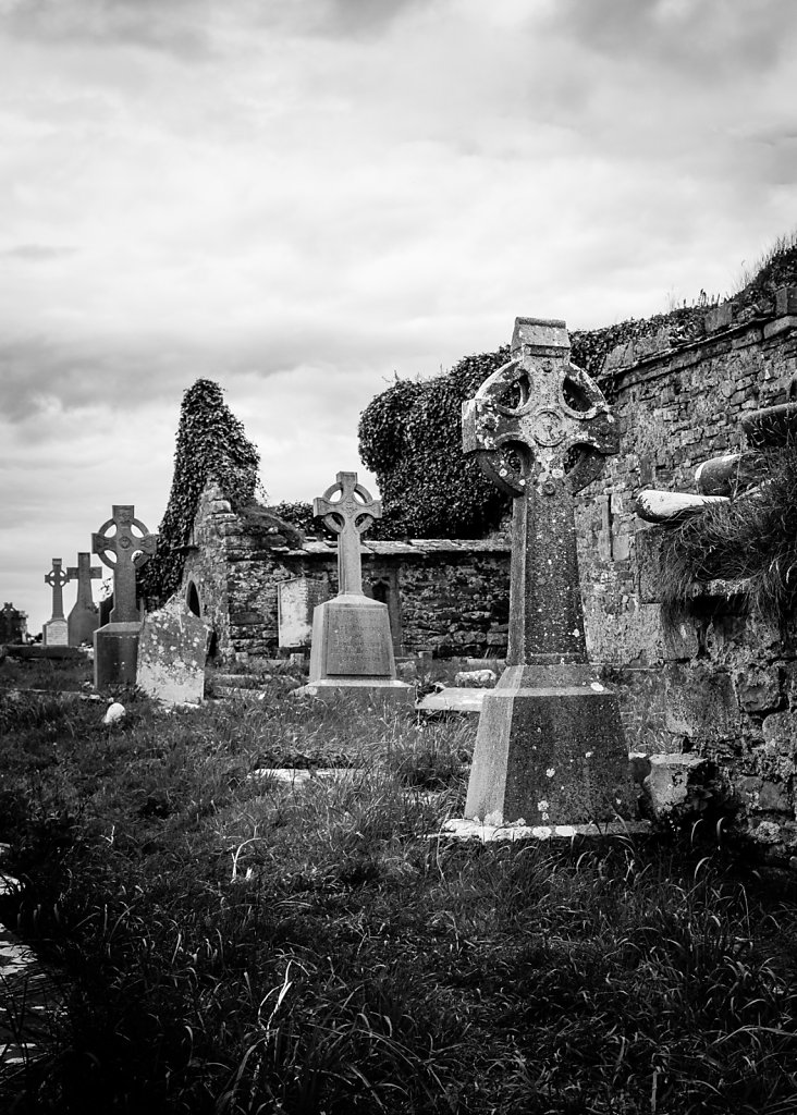Celtic Crosses - County Clare